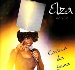 Capa - Elza Soares - Carioca da Gema